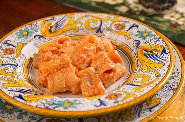 Pasta con la ricotta (Pasta and ricotta)