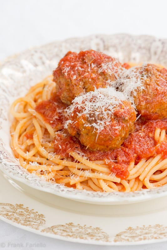 Italian-Style Meatballs With Pecorino And Parmesan Recipes ...