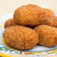 Supplì (Roman Rice Croquettes)