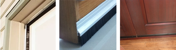 Pedestrian Door Brush Seals