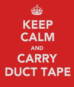 Carry Duct Tape