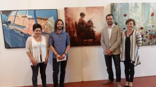Jorge Fernández Alday, premio de pintura Ciutat de Maó 2016