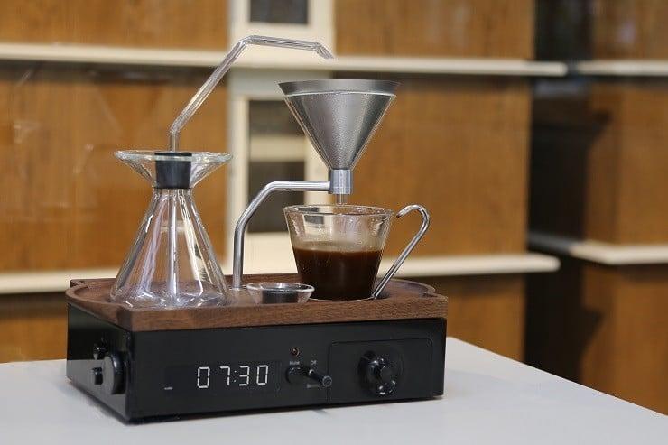 Coffee Maker In The Bedroom : Barisieur Coffee Maker/Alarm Clock Men s Gear