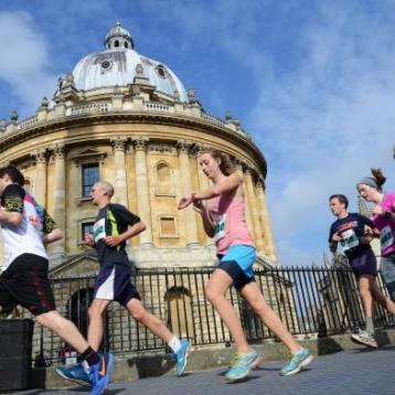 Run 13.1 miles of Oxford this autumn