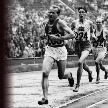 Anatomy of a runner: Emil Zátopek