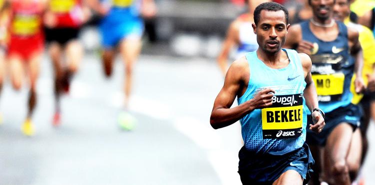 Kenenisa Bekele running style
