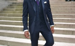 Indochino Navy Three Piece Suit