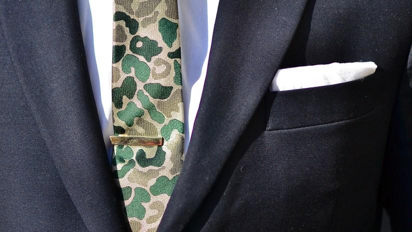 Hugh & Crye Cutaway Collar on Sabir Peele