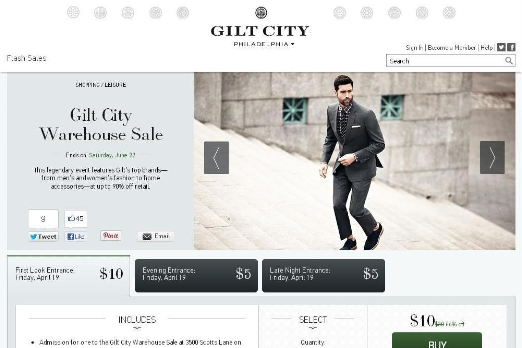 Gilt City Philly #RaidTheWarehouse