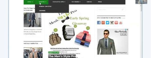 Men's Style Pro Relaunch