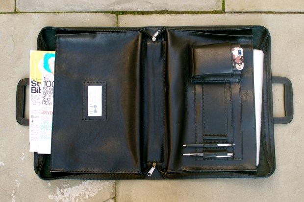 Madison Folio Style Briefcase by Korchmar