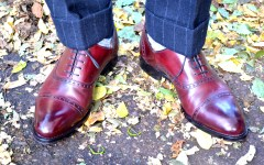 Paul Evans NY Oxblood Captoe