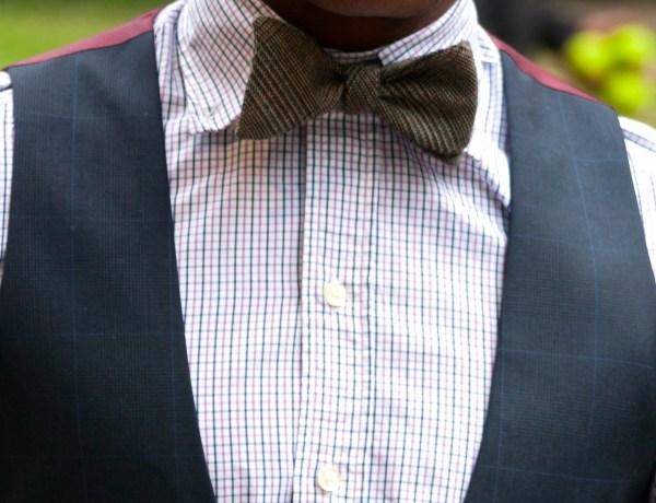 Lumina Company Bowtie on Men's Style Pro (Sabir M. Peele)