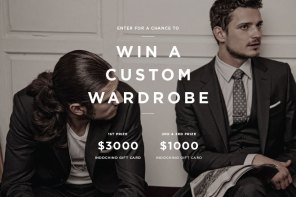 Win A $3000 Custom Wardrobe From Indochino