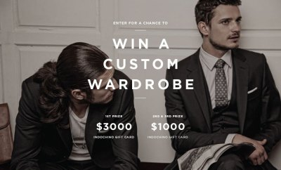 Indochino $3000 Custom Wardrobe Menswear Giveaway