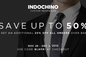 Indochino's Ultimate Black Friday Sale