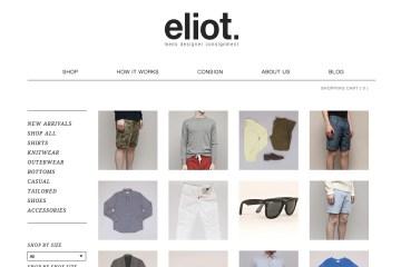 Eliot Men's Online Consignment