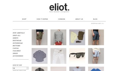 Eliot Men's Online Consignment
