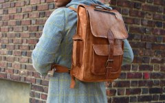 Sabir M. Peele review High On Leather Vintage Backpack
