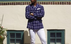 Sabir M. Peele of Men's Style Pro Summer's Menswear Essentials 2016 sponsored by I.W. Harper Whiskey