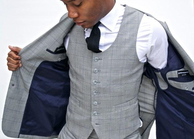 Imparali Glen Plaid Suit x Men's Style Pro
