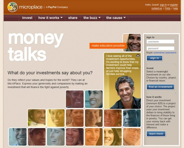microplace looking into U.S. microfinancing