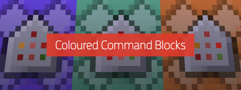 Map Making in 1.9: Coloured Command Blocks!?