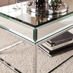 Small Crop Of Mirrored Coffee Table