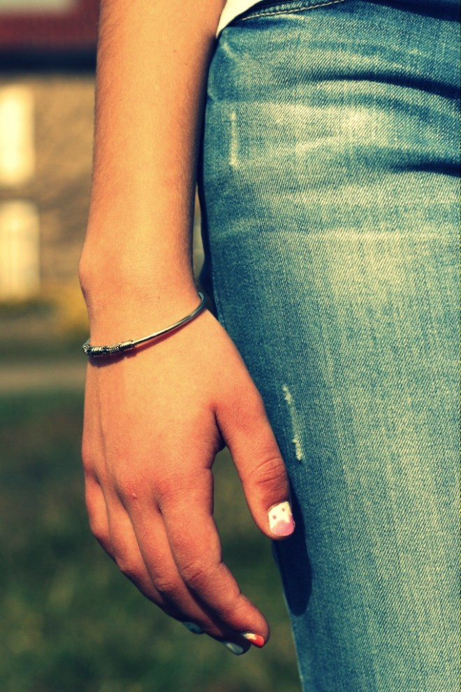 Bracelet en argent Bijoux Chérie