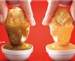 マックナゲット フルーツカレーソース クリーミーチーズソース