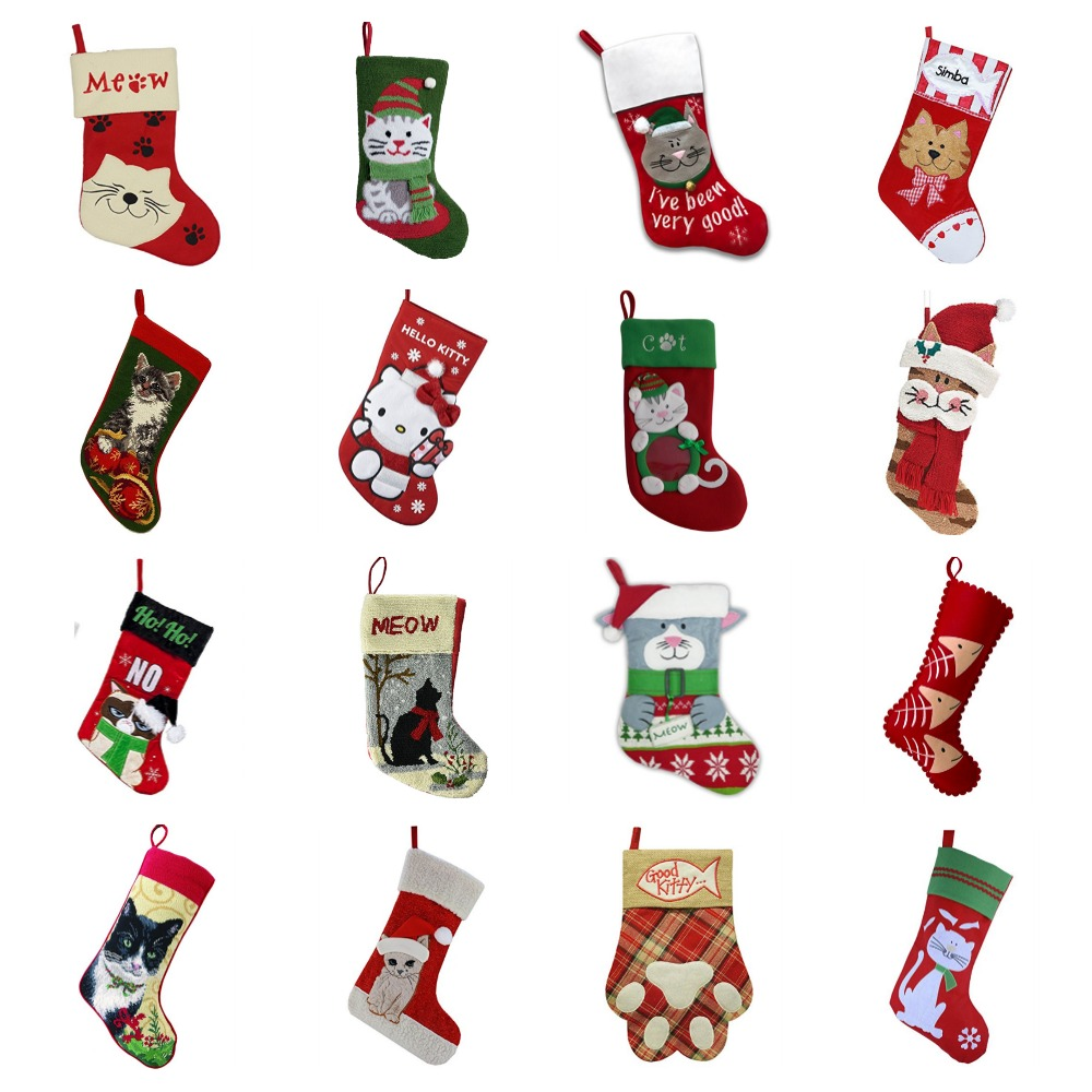 Fullsize Of Cat Christmas Stockings