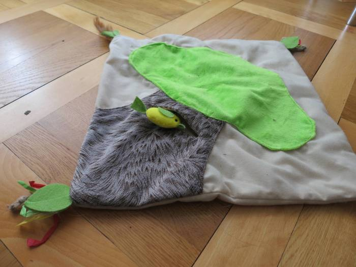 SmartyKat cat activity mat