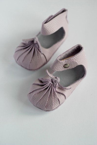 First Baby Shoes DIY