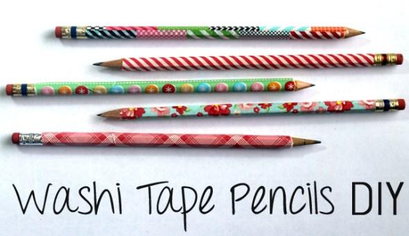 washitape matite personalizzate
