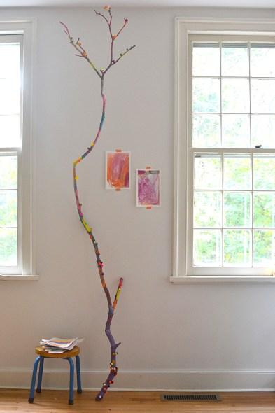 ramo dipinto bambini