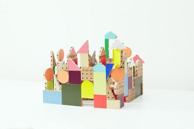 Torafu Architects Dowel blocks