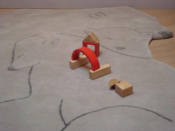 Art for Kids - Carpet Bear