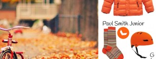 Ottobre veste i bimbi in arancione