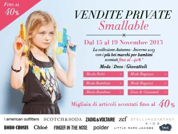 Vendita privata Smallable