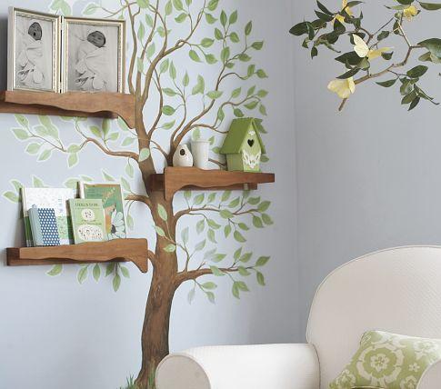 albero mensole