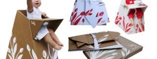<!--:it-->E questo ci mancava: il seggiolone in cartone riciclato!<!--:-->