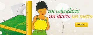 Un regalo, un calendario, un diario, un metro per il bambino: ecco il Calendimetro