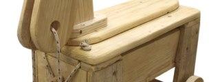 Alicucio, giocattoli di legno fatti a mano