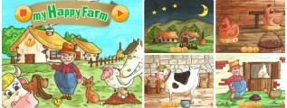 La fattoria per i bambini in una app, My Happy Farm