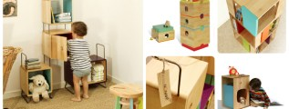 Di Salamandre e Camaleonti, ovvero i mobili componibili ed eco-friendly di Nonah