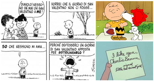 Peanuts - Charlie Brown San Valentino
