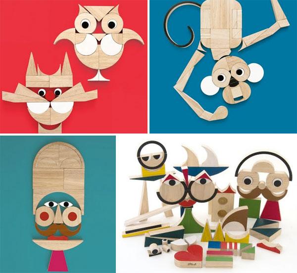 playshapes costruzioni legno