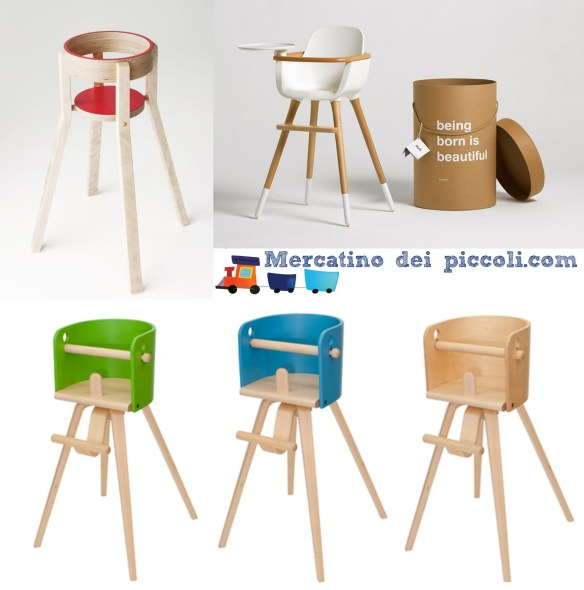 Baby high chair design