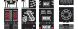 <!--:it-->Robox= contenitore per giochi + sgabello + robot + decorazione da parete<!--:-->