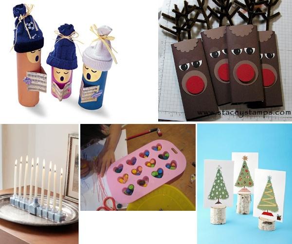 5 decorazioni e segnaposto per natale fai da te con i - Decorazioni natalizie bambini fai da te ...